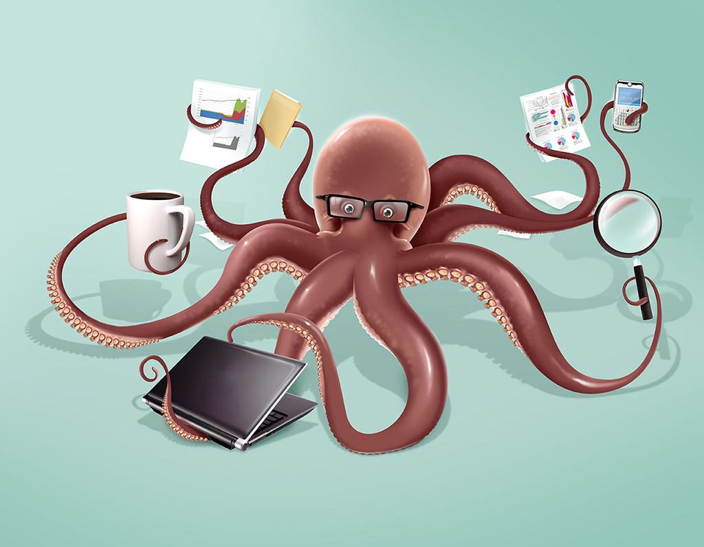 OctopusWorking